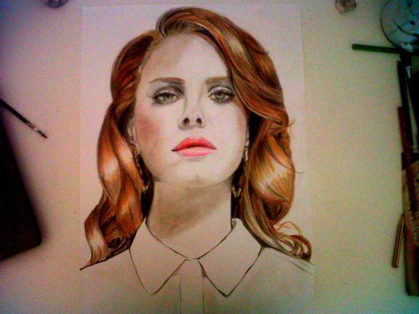 Lana Del Rey by CeciliaMarini